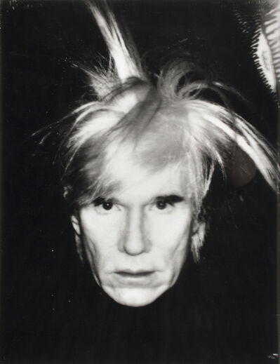 Andy Warhol, 'Self Portrait - Fright Wig', 1986