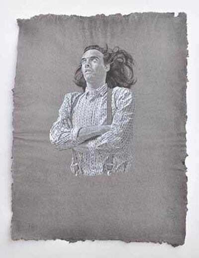Sarah Bertrand-Hamel, 'Tu es en chemise', 2014