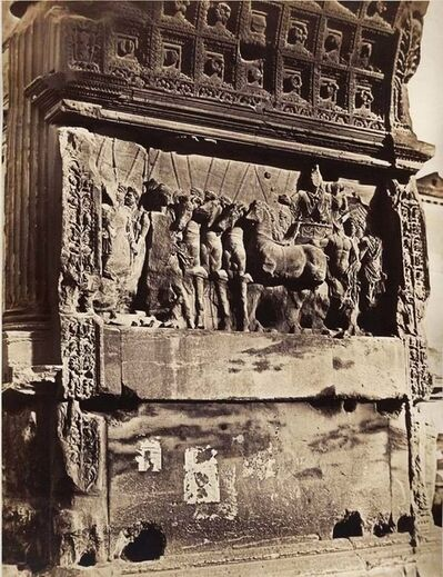 James Anderson, 'Arch of Titus, Rome, Italy', 1850s/1861c