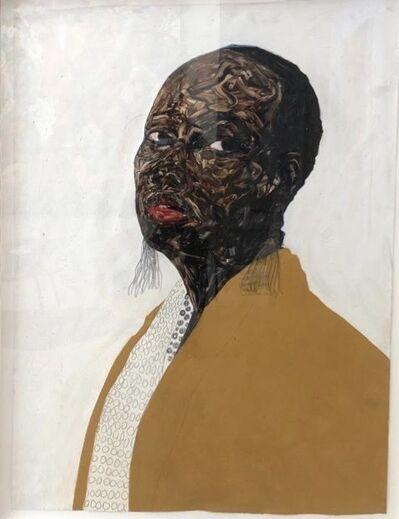 Amoako Boafo, 'Untitled', 2018