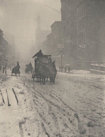 Alfred Stieglitz, 'Winter Fifth Avenue', 1983