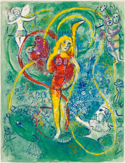 Marc Chagall, 'Untitled from Cirque', 1967