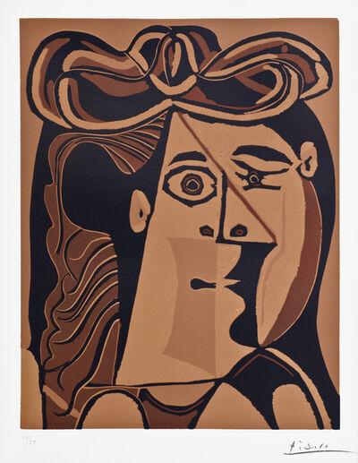 Pablo Picasso, 'Femme au Chapeau', 1962