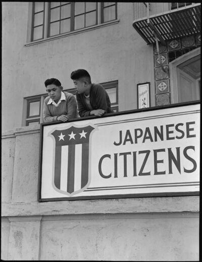 Dorothea Lange, 'Japanese American Citizens League, San Francisco', 1942