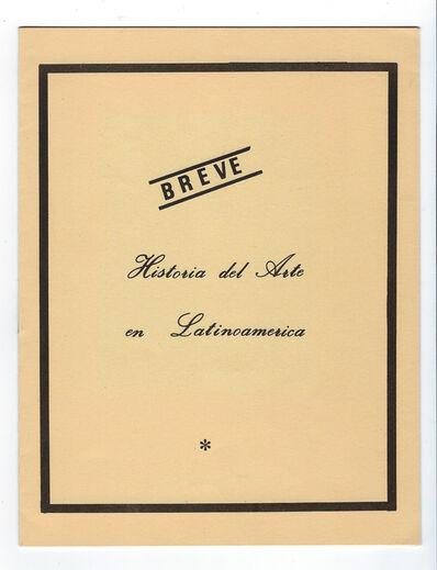 Jorge Caraballo, 'Breve Historia del Arte en Latinoamerica', 1986