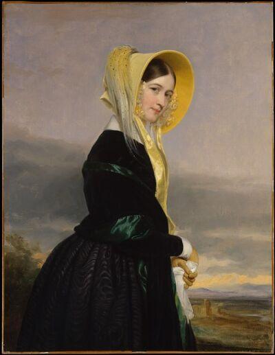 George P. A. Healy, 'Euphemia White Van Rensselaer', 1842
