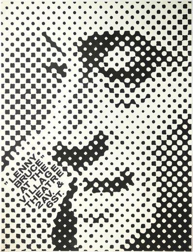 George Maciunas, 'Lenny Bruce at the Village Theatre', 1967
