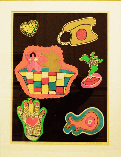 Niki de Saint Phalle, 'In a Bath With You (From Nana Power)', 1970