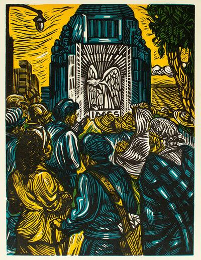 Ángel Bracho, 'La Revolución y la Seguridad Social II', 1960
