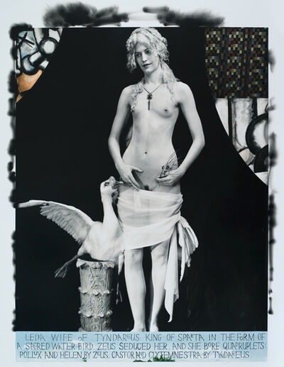 Joel-Peter Witkin, 'Leda Giving Her Lover a Condom, New Mexico', 2011