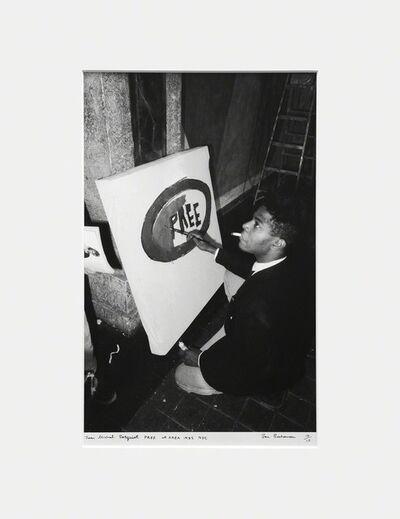 Ben Buchanan, 'Jean Michel Basquiat, PREE at AREA, 1985, NYC', 1985