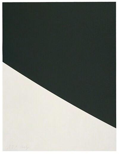 Ellsworth Kelly, 'Black Curve', 2000