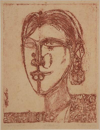 Laxma Goud, 'Head', 1992
