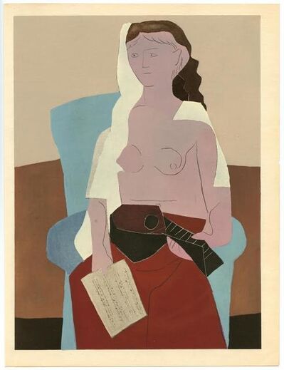 Pablo Picasso, 'Femme assise', 1930