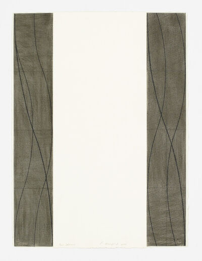 Robert Mangold (b.1937), 'Two Columns', 2006