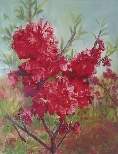 Zhou Chunya 周春芽, 'Bright-coloured Peach', 2012