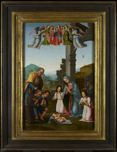 Attributed to Tommaso di Stefano Lunetti, 'The Adoration of the Shepherds', ca. 1520-1540