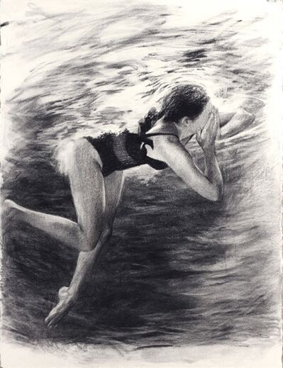 Anne Leone, 'One Swimmer #2'