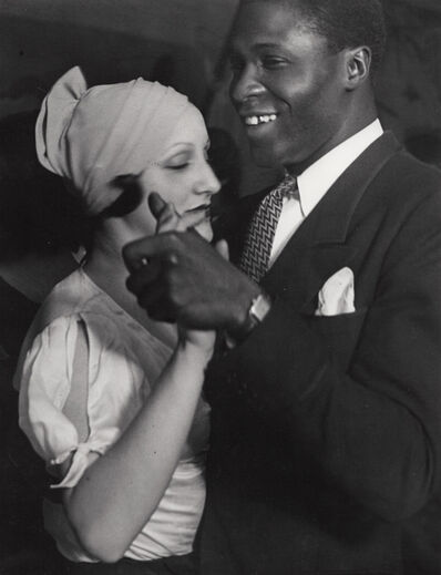 Brassaï, 'Couple Au Bal Blomet, Paris', 1931
