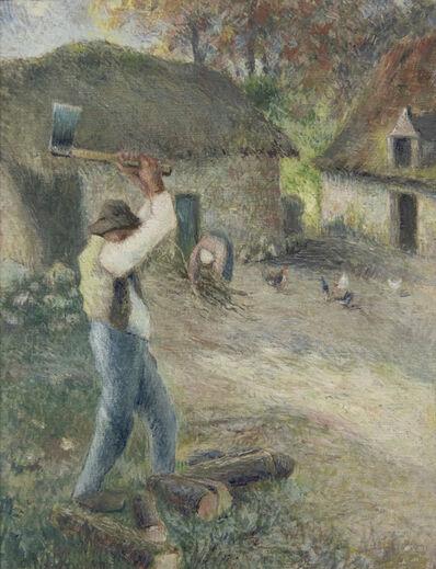 Camille Pissarro, 'Le Pere Melon Fendant du Bois', 1880