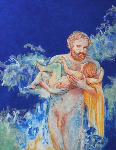 Michael Price, 'A Part of Eternity No. 47, Father and Child', 2015