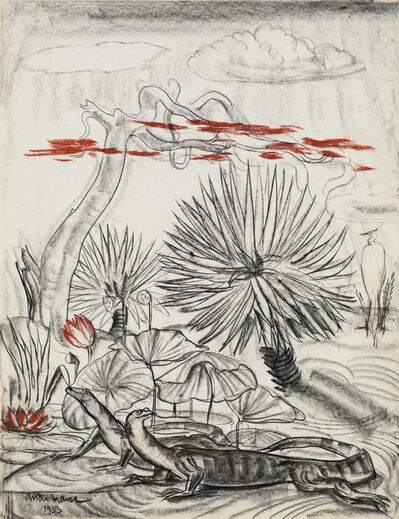 André Maire, 'Asian Water Monitor', 1953