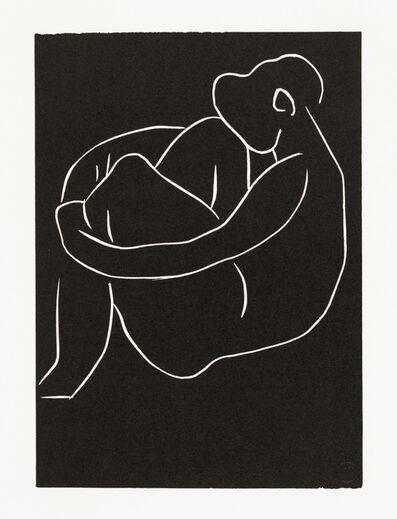 Henri Matisse, '. . . SEULE, AU PIED DU GRAND CAROUBIER . . . ', 1944