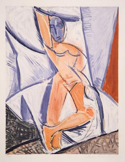 Pablo Picasso, 'Etude Pour Le Nu a la Draperie', 1973