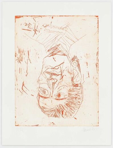 Georg Baselitz, 'Madame Rousseau II (Red)', 2018
