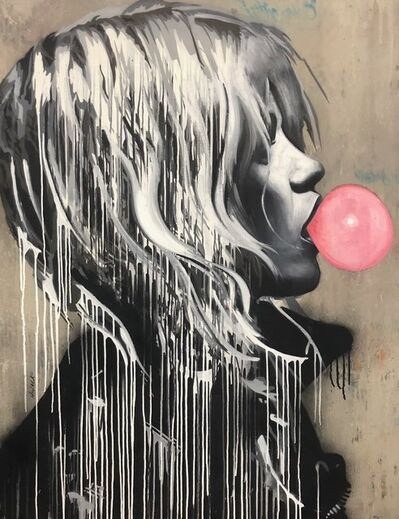 Hijack, 'Bubble Gum Girl', 2018