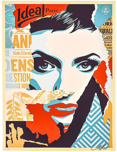 Shepard Fairey, 'IDEAL POWER', 2017