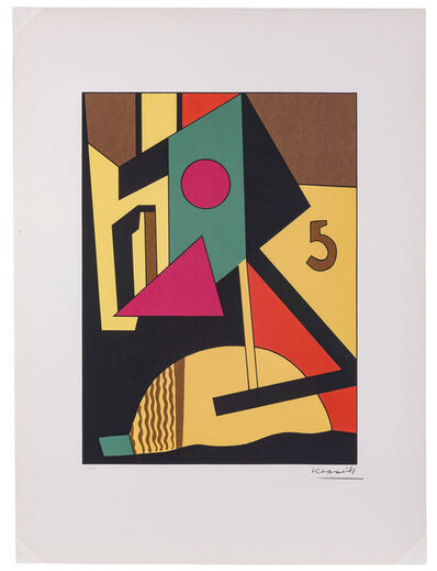 Lajos Kassák, 'Untitled (from Bildarchitectur)', 1965
