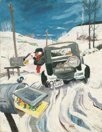 Oscar Cahén, 'Untitled (Royal Mail), IO 371 Maclean's Cover, March 1', 1948