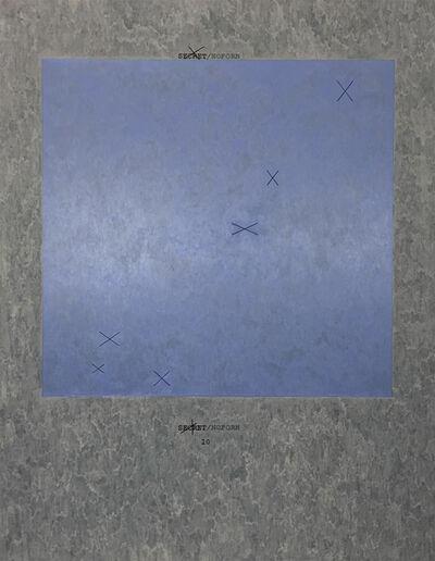 Jenny Holzer, 'X 10 Text: U.S. government document', 2013
