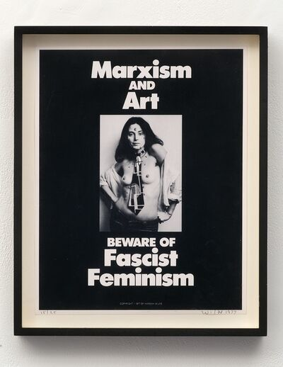 Hannah Wilke, 'Marxism & Art', 1977