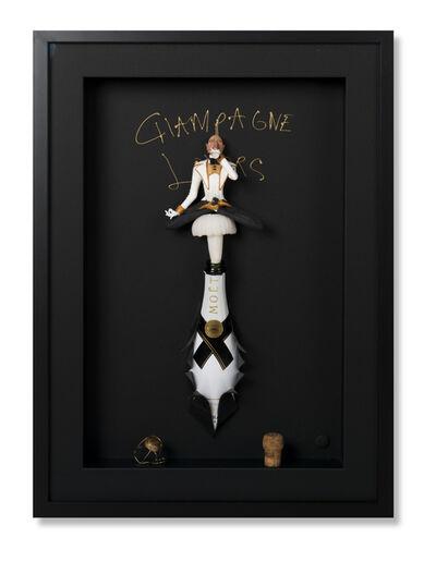 Eva Post Ruben Verheggen, 'Champagne Lover White', 2018