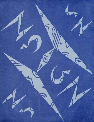 Rafael Alberti, 'Letter H ', 1972