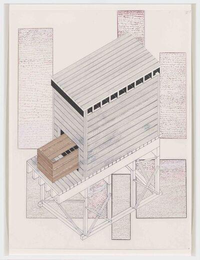 Siah Armajani, 'Tomb for Richard Rorty', 2016