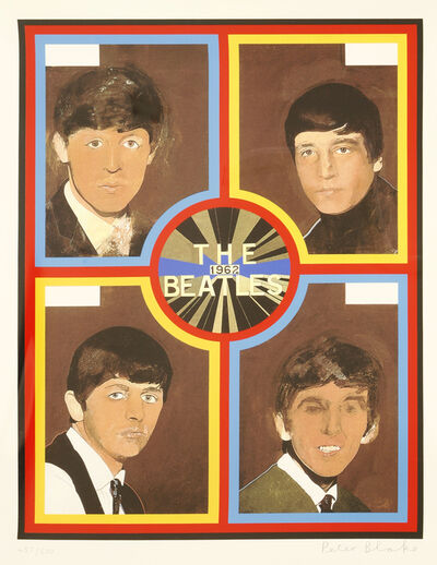 Peter Blake, 'The Beatles 1962', 2012
