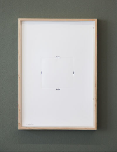 Tanja Koljonen, 'Standard Shapes / Orientation', 2014