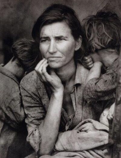 Dorothea Lange, 'Migrant Mother', 1936-printed later in 2001