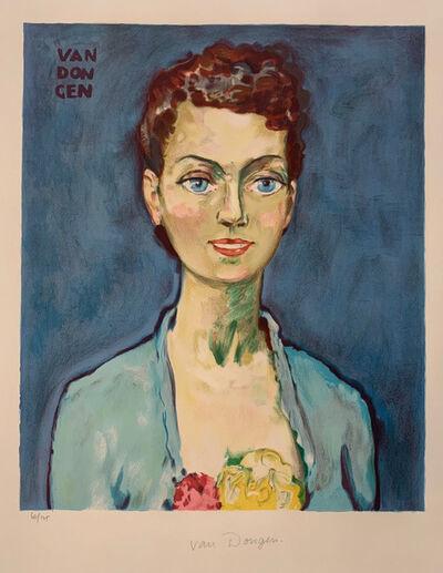 Kees van Dongen, 'Hommage á Marie-Claire', ca. 1950