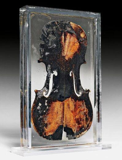 Arman (1928-2005), 'Le dernier petit violon', 1977
