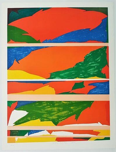 Piero Dorazio, 'Orizzonte', 1970