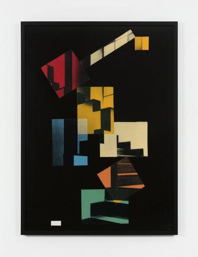 Sarah Charlesworth, 'Cafe Aubette', 1982