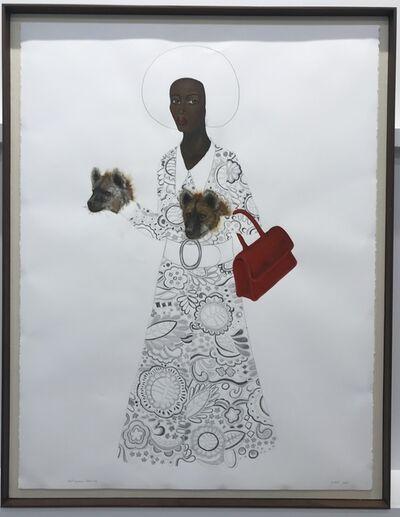 Anne Siems, 'Mod Hyena Drawing', 2019