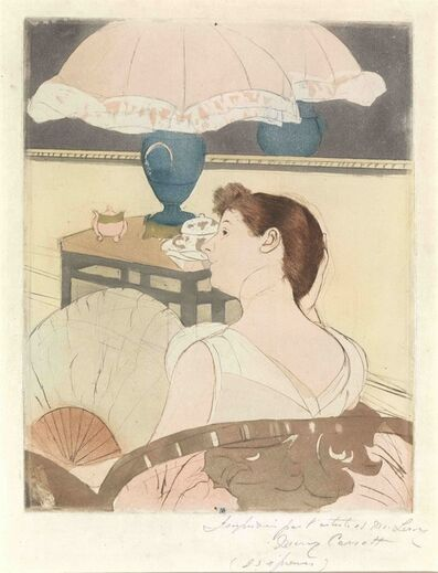 Mary Cassatt, 'The Lamp', ca. 1890
