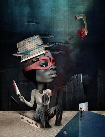 Caitlin Truman - Baker, 'bloody thief', 2018