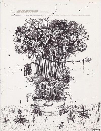Matthew Day Jackson, 'Letterhead drawing #1', 2020