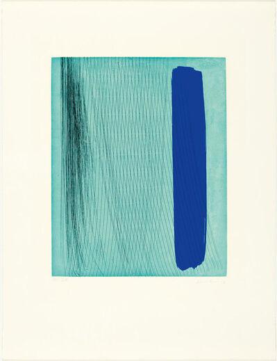 Hans Hartung, 'From: Requiem pour la fin des temps', 1973